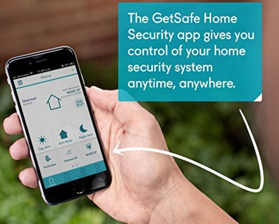 GetSafe Best Do it Yourself DIY Home Security system