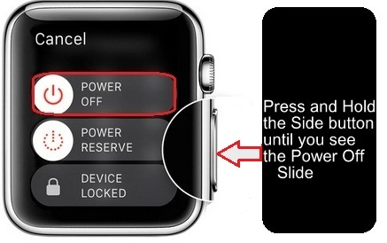 Steps for reset or Erase Apple Watch without iPhone