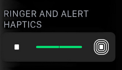 How to increase or adjust Haptic alerts intensity on Apple Watch