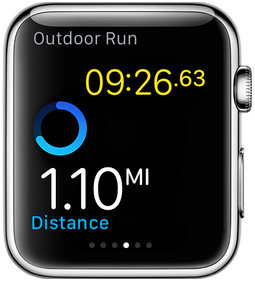 how to start workout on Apple watch
