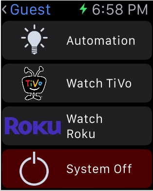 Enjoy Apple TV on Apple watch with App