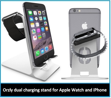 Best iPhone and Apple Watch charging Station: Dual stand 2015