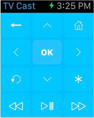 Roku Smart TV app for Apple watch