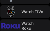 Roku App for Apple watch