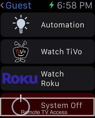 Roku App for Apple watch