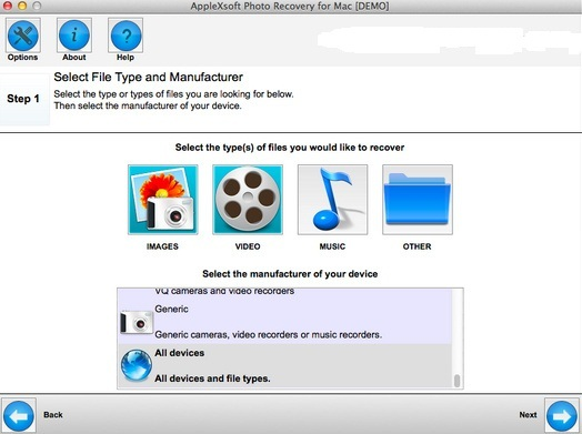 How to recover deleted SD card photos on Mac OS X Yosemite