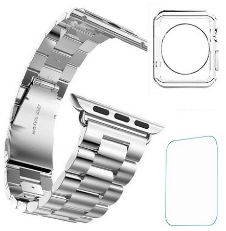 Steel Watch Band in 38mm and 42mm
