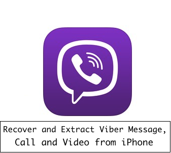 Viber message recovery for iOS device