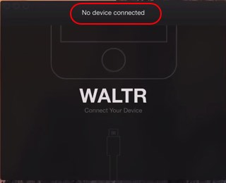 Launch WALTR for Mac To iPhone without iTunes