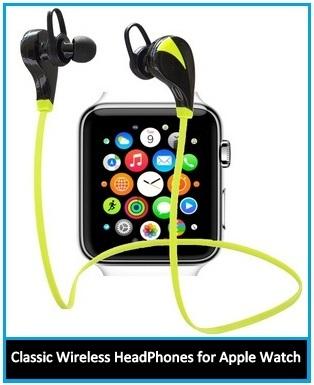 Stylist and Best Apple Watch Wireless Bluetooth headset