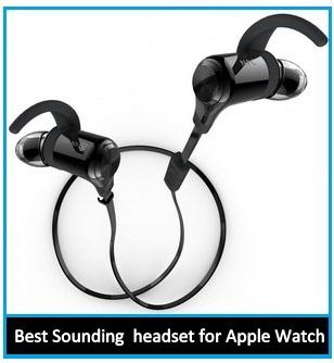 best Apple Watch wireless Bluetooth headphone