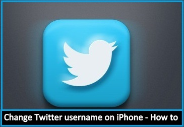 How to change Twitter username on iPhone 6, 6 Plus , iPad