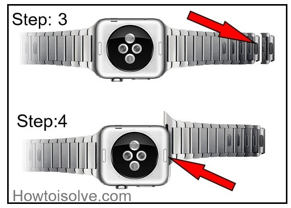 change Link bracelet on Apple Watch 2 and Apple Watch 1