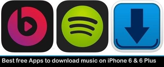 apps to download free music on iphone 6 plus