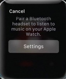 Apple watch setting app