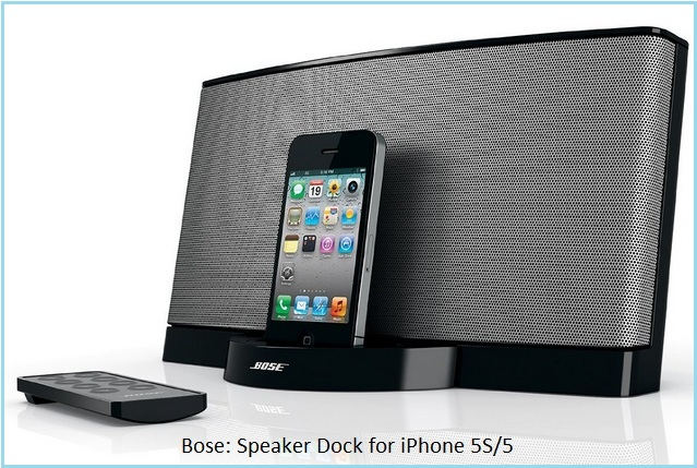 Best iPhone 5S speaker dock by Bose