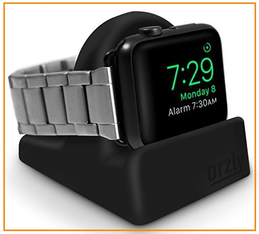 1 Orzly Apple watch stand compatible with all bands