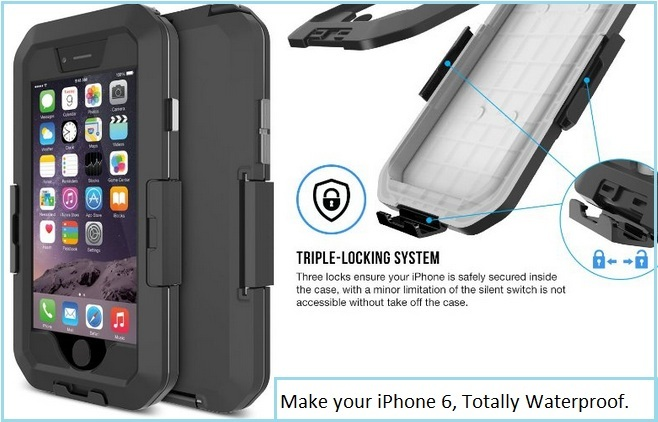 Best iPhone 6 waterproof cases by Tethy
