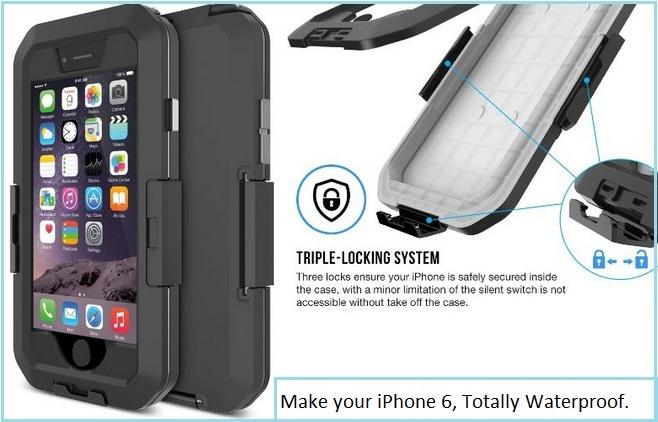 Best iPhone 6 waterproof cases by Tethy