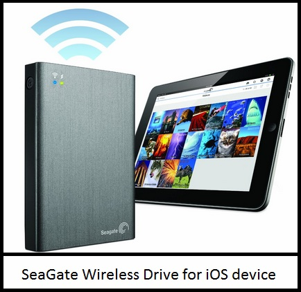 By Seagate iOS device drive