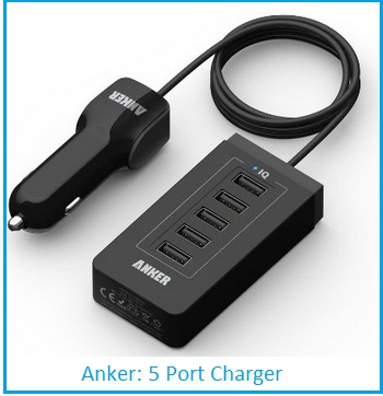 USB charger by anker on best price
