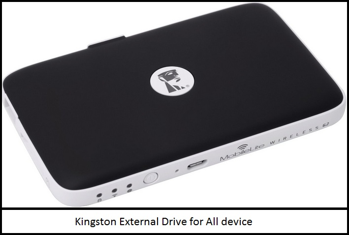 kingston iPhone, iPad media drive
