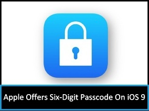 How to set 6 Digit Passcode iPhone iPad
