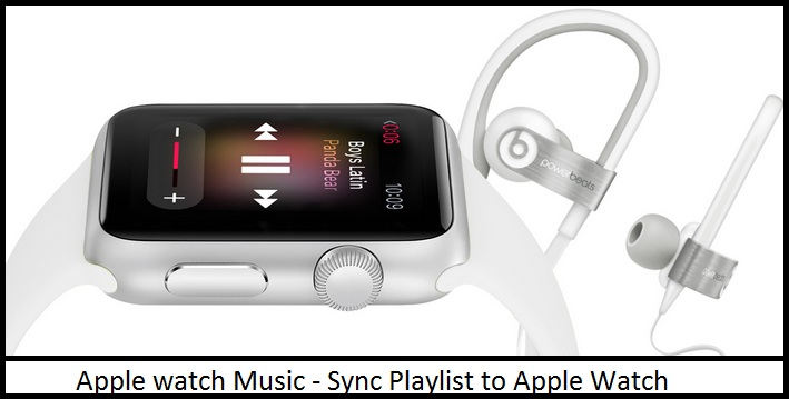 Create music Playlist in Apple watch from iPhone