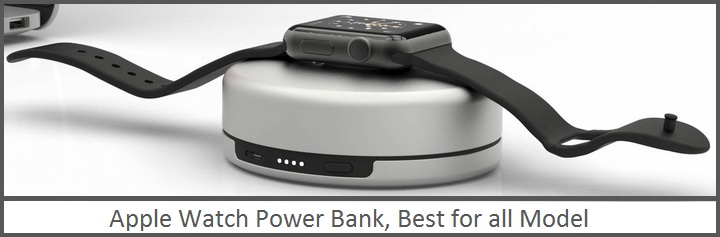 Best Apple Watch Portable Power Bank Battery Charger