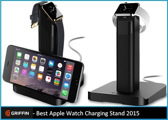 Best Apple Watch Charging Stand offer by griffin 2015