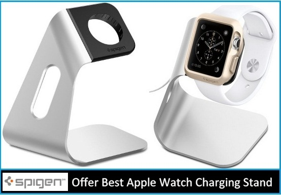 Best Apple Watch Charging Stands offer by Spigen 2015