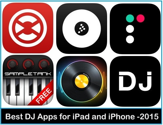 6 Best DJ Apps for iPad and iPhone 2015