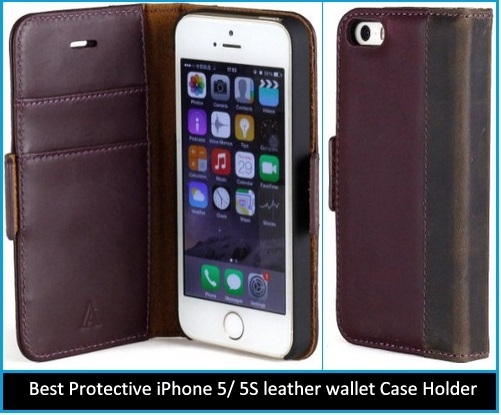 beautiful and Best Protective iPhone 5/ 5S wallet Case holder