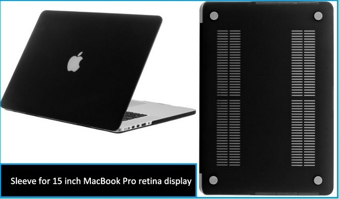 Rubber Case for MacBook Pro 15 inch display