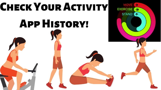 Check Your Activity App History! on Activity App