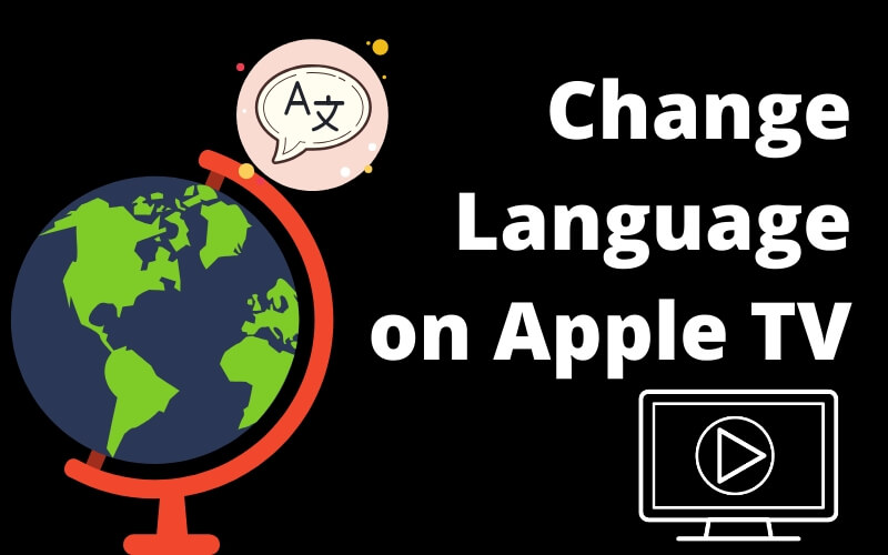 Easy way to change language on Apple TV or Subtitle