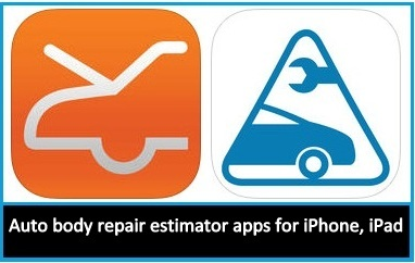 Best Online Auto body repair estimator apps for iPhone, iPad