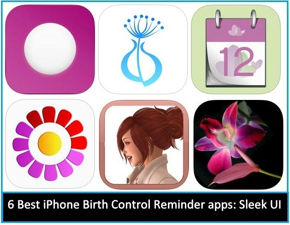 Best iPhone Birth Control Reminder apps