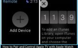 How to Pair and Control Apple TV with Apple Watch