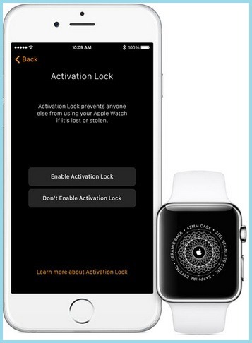 Passcode for apple watch security