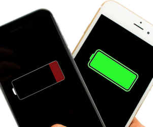 Low power mode on iPhone in iOS