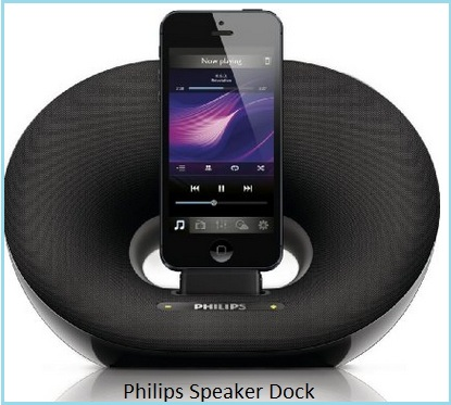 Philips iPhone 5s and iPhone 5 speaker dock