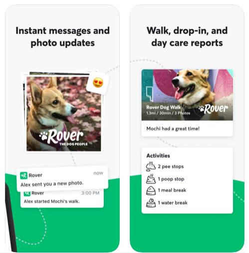 Rover - Dog Walker App