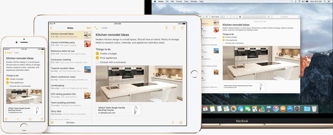 Mac OS X EI Capitan features: Notes