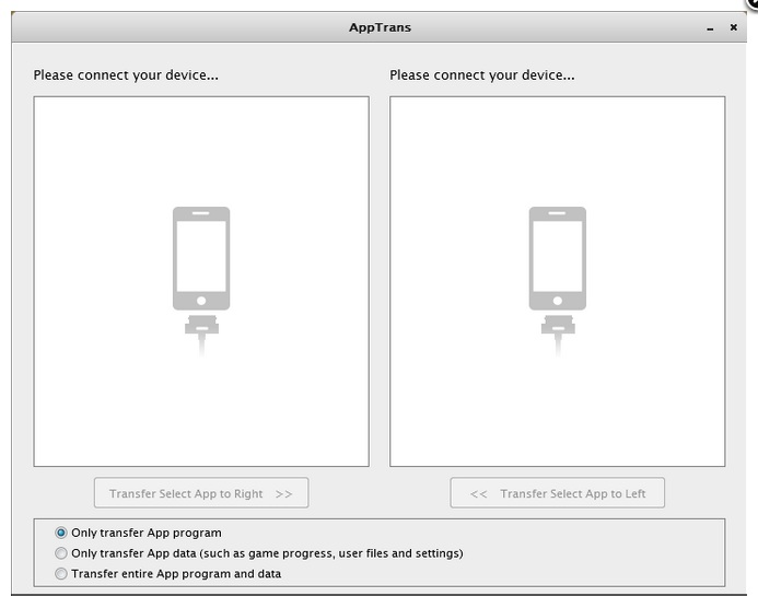 Transfer all apps from iPhone to iPhone and iPad, iPod
