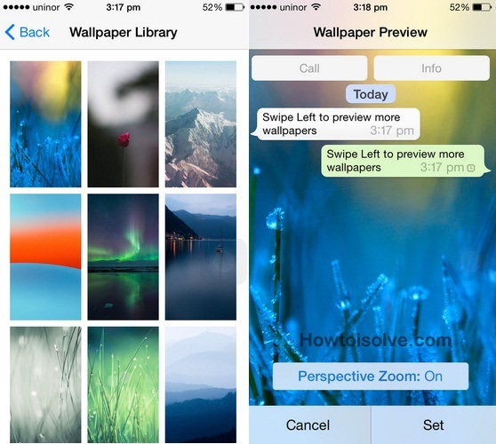 How to Change Chat wallpaper in WhatsApp on iOS 8