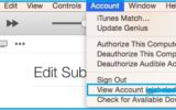 Stop or disable auto renew Apple Music on Mac OS X Yosemite, Mavericks