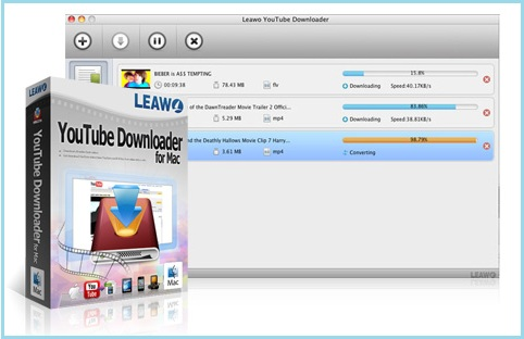 YouTube video download on Mac by Leawo