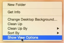 Folder setting for Desktop folder