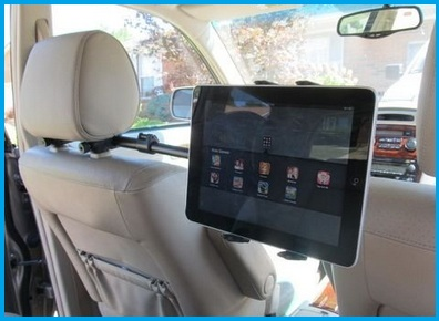 Universal Hand Rest Ipad Car Mount For All Size And Tablets